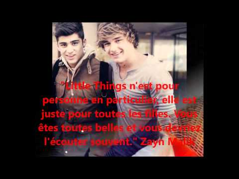 Facts / Citations One Direction Français 2013