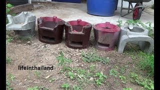 5 Thai cook stoves, Thailand