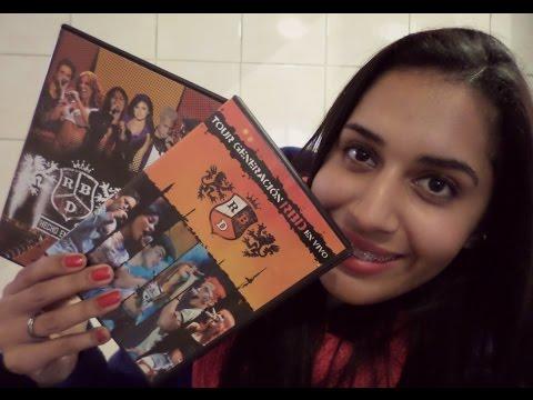 Onde comprei meus cds/dvds do RBD