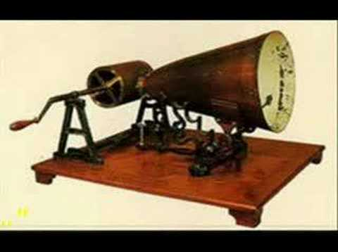 first recorded sound