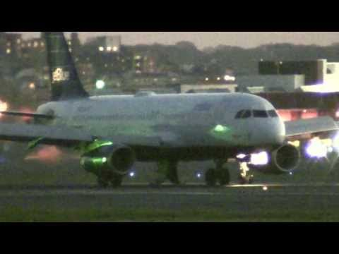 Another jetBlue Emergency Landing Gear Problem and Open Gear Doors -  Boston Logan