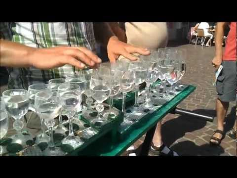 Wine Glass Music in Trier: Travel Germany Traveling Europe