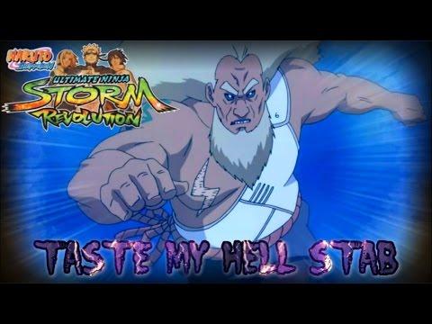 ★Naruto Storm Revolution | Custom Third Raikage | Thrust Of Hell | AMAZING COMEBACK !【HD 720P】★