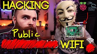 Hacking Starbucks WiFi with a Raspberry Pi and Kali Linux
