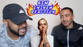 KIM - EMINEM | MY FRIEND HEARS FOR THE FIRST TIME | REACTION