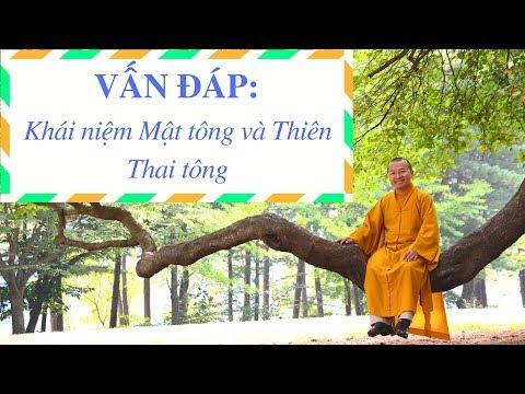 Khái niệm Mật tông và Thiên Thai tông