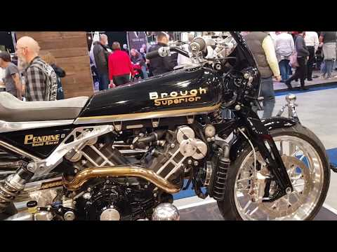 A Walk Around A Few Brough Superior Bikes At The Motorcycle Show