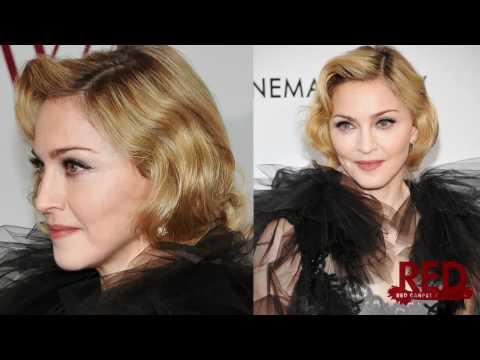 Madonna Bold In Marchesa At W.e. Screening video