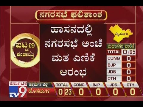 Karnataka Local Body Election Results 2018: Counting Of Votes Starts In Hassan
