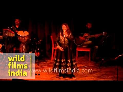 Rekha Bhardwaj singing her most popular song Tere Ishq Mein...