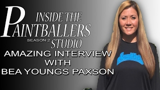 Inside the Paintballers Studio with Bea Youngs Paxson!!!!