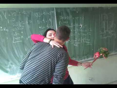 buket granja i slame profesorici za 8. mart :) nikola tesla 4e2