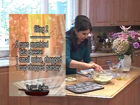 Samira's Kitchen Episode # 98 - Middle Eastern Recipes - Meat Pies, Cheese Pies, Cheese Flatbread