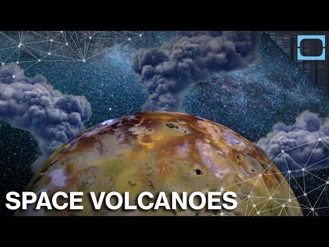 Do Space Volcanoes Hold The Key To Alien Life?