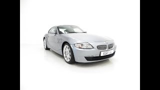 An Outstanding BMW E86 Z4 3.0Si Sport Coupe with Just 33,168 Miles - £14,395
