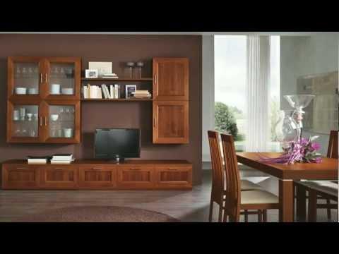 Arredamento soggiorno classico Paris by ARTIGIANMOBILI – Arredo zona giorno casa