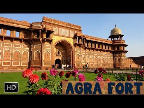 Agra Fort - Uttar Pradesh India - UNESCO World Heritage Site