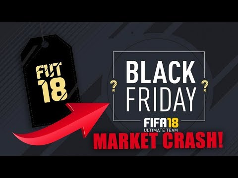 FIFA 18 BLACK FRIDAY MARKET CRASH! HOW TO MAKE FREE COINS & HOW TO PREPARE! WHEN TO SELL & BUY