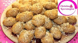 Melomakarona Rezept / Griechisches traditionelles Weihnachtsgebäck / Μελομακάρονα