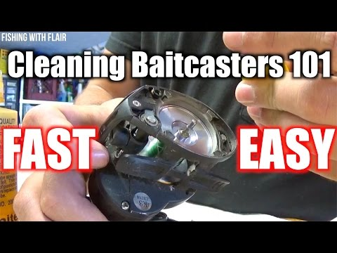 Easiest Way To Clean A Baitcaster (And Oil)