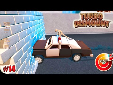 Turbo Dismount прохождение КАК ОТОРВАТЬ МИГАЛКУ? (14 серия)