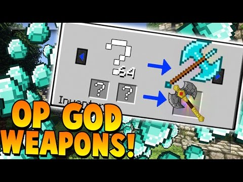 OVEPOWERED GOD WEAPONS - Minecraft Money Wars 1.9 SOLO #15