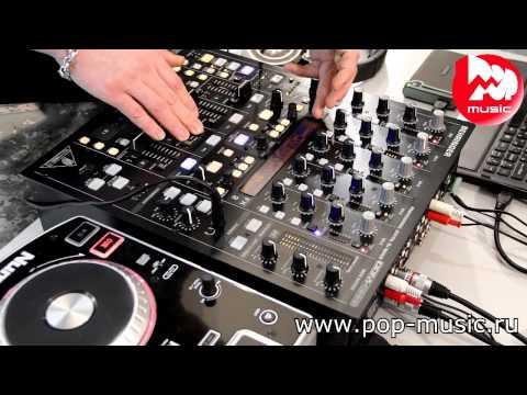 DJ-пульт BEHRINGER DDM 4000 DIGITAL PRO MIXER review