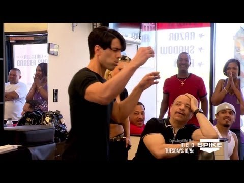 Criss Angel BeLIEve: Swallowing Razor Blades (On Spike)