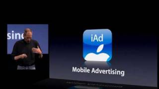 Apple iPhone OS 4.0 : iAD Part 1