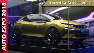 Tata 45X (X451) Concept at Auto Expo 2018 - ICN Studio