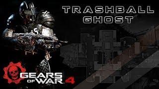 """Gears of War 4 l 1ra. Partida debut l """" Trackball Ghost """" l Guardian l 1080p Hd"""