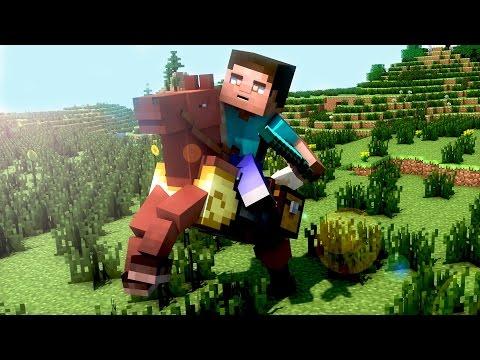 Tutoriel | Créer un Wallpaper Minecraft avec Cinema 4D [FR] [HD720p]