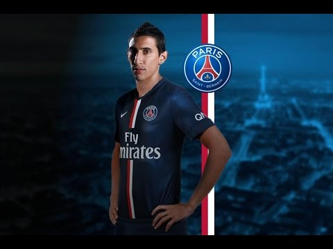 Angel Di Maria   Welcome To PSG   Crazy Skills And Goals