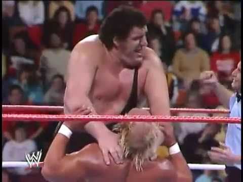 Hulk Hogan vs Andre The Giant (The Main Event) 1988