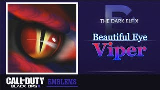 Black Ops 2 Emblem - Beautiful Eye ( Viper )