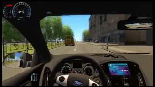 City Car Driving 1.2.2(2.2.7) Ford Focus III ST Com Cambio Automatico