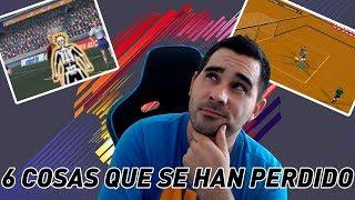 6 COSAS QUE HA PERDIDO FIFA CON EL PASO DEL TIEMPO!!!