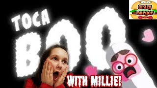 Toca Boo with Millie!