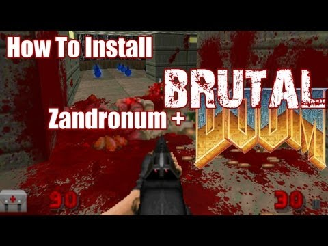 How To Install Brutal Doom Doom Metal Volume 3 Zandronum image
