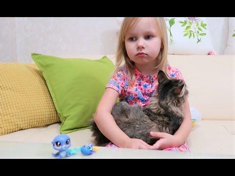 Игрушки ЛПС в наборах Книжка про мамонтёнка читаем с Алисой Маленькие питомцы из зоомагазина