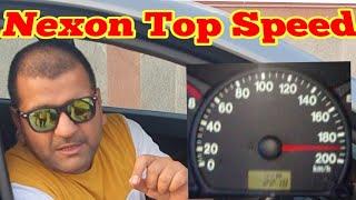 Tata nexon top speed test on express way.