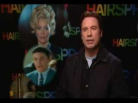 John Travolta talks Hairspray with stv/movies Video