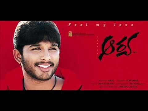 Arya Telugu Movie - Feel My Love Song Karaoke Track video