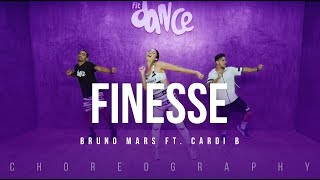 Download Lagu Finesse - Bruno Mars Ft. Cardi B | FitDance Life (Choreography) Dance Video Gratis STAFABAND