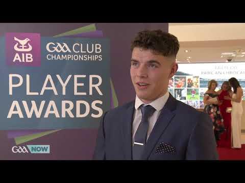Odhrán McFadden Ferry - AIB GAA Club Players Awards - GAANOW