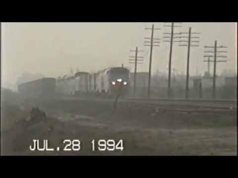 Amtrak Southwest Chief #3 in Buena Park, Ca back in July 1994
