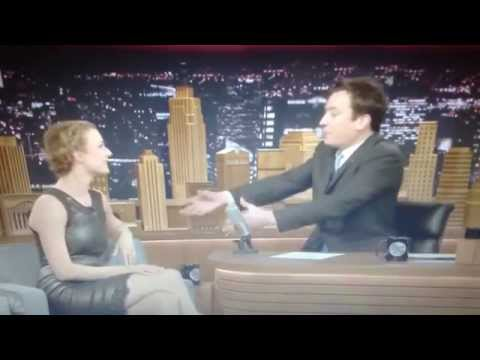 Emily Vancamp on Jimmy Fallon Part 1.
