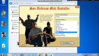 Gta san andreas: tutorial: how to install cars with a mod installer