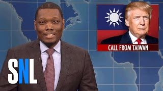 Weekend Update on Donald Trump's Taiwan Call - SNL