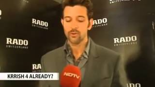 Krrish 3 - No time to celebrate Krrish 3 success  Hrithik Roshan Video